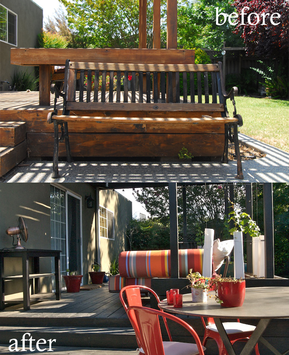 Before &amp; After: Patio