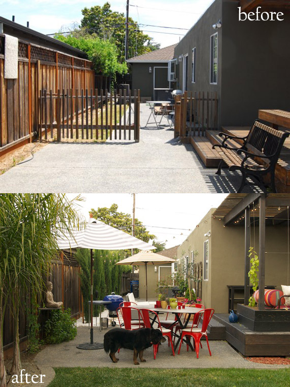 Side Yard Before & After