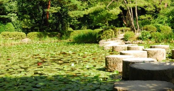 Stepping Stones, Heian Gardens