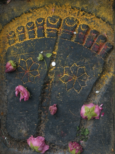 Feet, Belur, India